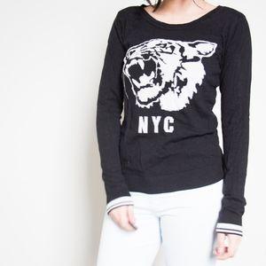 Garage Tiger NYC Graphic Sweatshirt Sweater